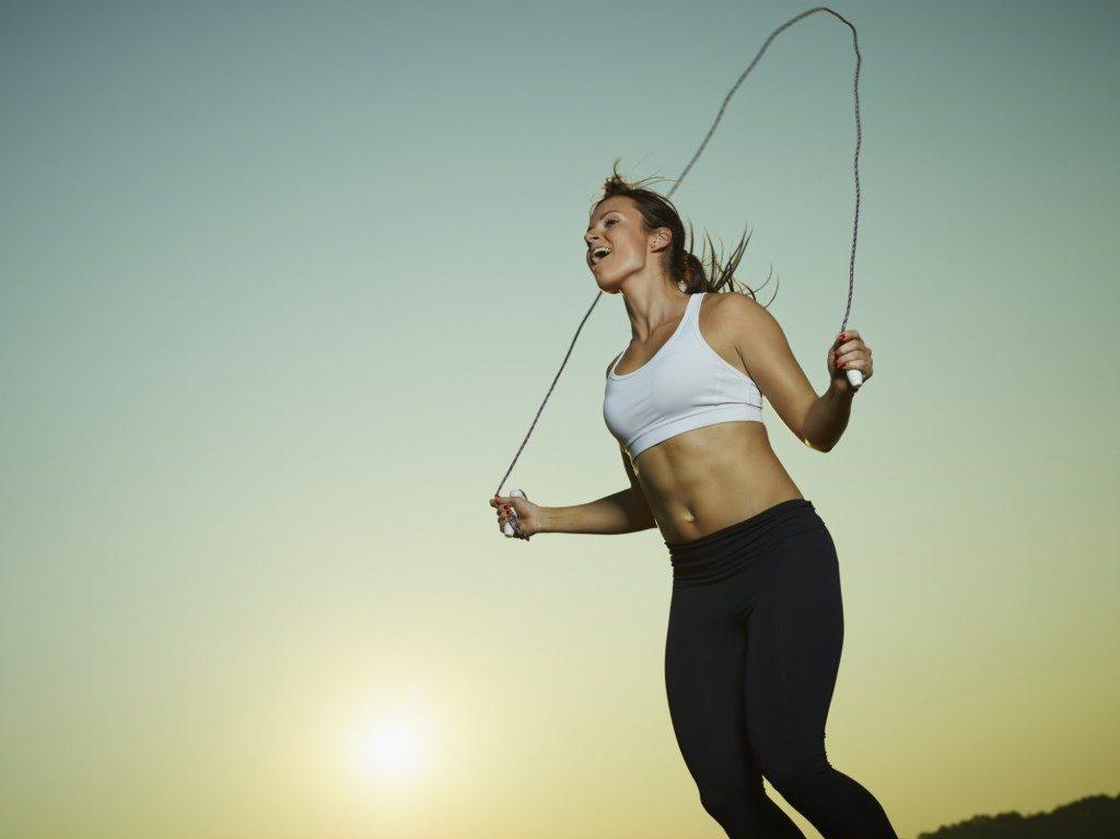 縄跳びダイエット口コミ効果方法